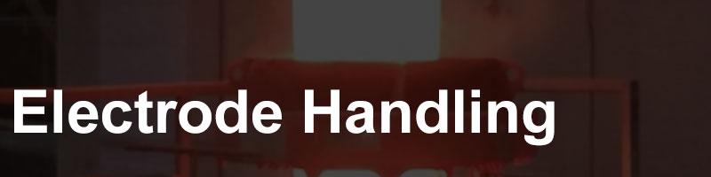 electrode handling button